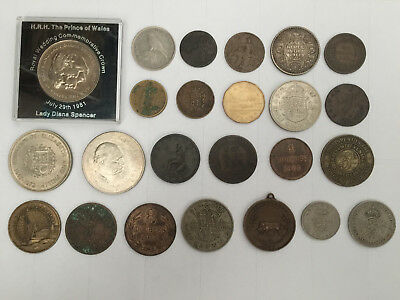 British, European and World Historic Coins - Various/Rare - 1799 Onwards