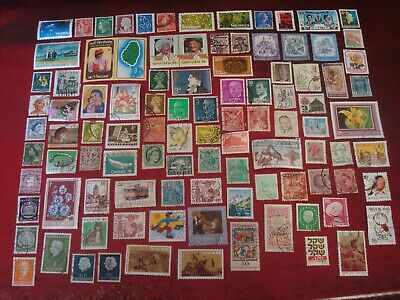 WORLDWIDE - 99 x WORLD STAMPS (14) - ALL DIFFERENT