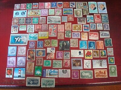 WORLDWIDE - 99 x WORLD STAMPS (8) - ALL DIFFERENT