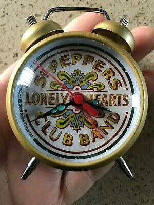 Beatles Sgt Peppers Lonely Hearts Club Band Wind Up Alarm Clock