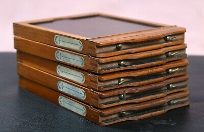 Five Century Camera 4x5 Vintage Film Holders in nice condition...numbered!