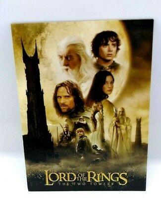 Lord Of The Rings Two Towers Trading Card Collectors Update Edition Set Topps