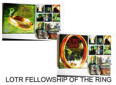 Lotr Fellowship Of The Ring Ultra  Rare Binders And Full Base Set Of Cards