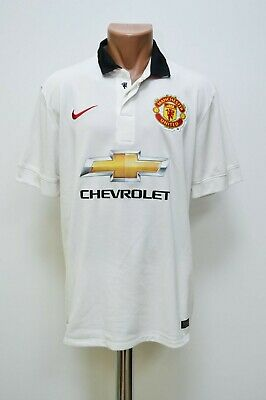 787868424b0 Manchester United England 2014 2015 Home Football Shirt Jersey Nike Size L  Adult