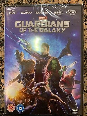 Marvels Guardians of The Galaxy DVD Chris Pratt Groot New & Sealed Free Postage