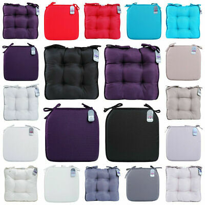 New Seat Chair Pad Cushion Dining Room Garden Kitchen Chair Cushions with Tie On