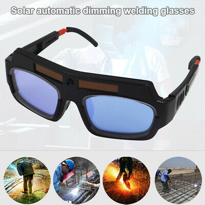 Solar Powered Auto Dimming Welding Glasses Mask Helmet Eyes Goggle Arch Glasses