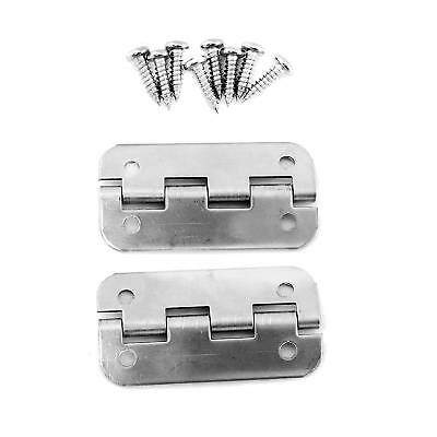 Stainless Steel Replacement Cooler Hinges For Igloo Style Ice Chests Pack Of 2 8