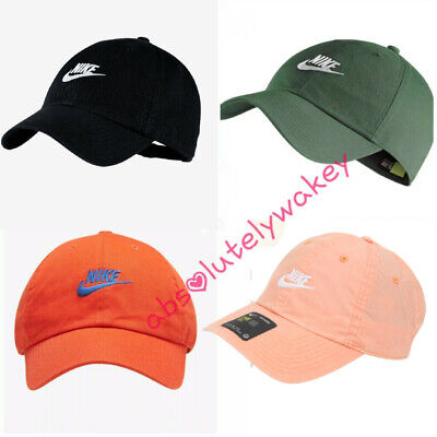7dcc6cbe67f7a Nike Sportswear Heritage 86 Futura Washed Adjustable Hat Unisex One Size