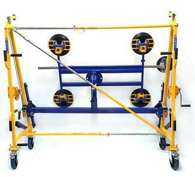 Glass Lifting Equipment Trolley with 5 Suction Cups 400kg Capacity