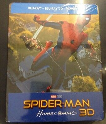 Spider-Man Homecoming Edition limitée Steelbook Blu-ray 3D + 2D fnac
