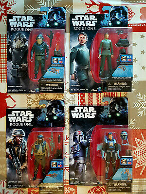 Star Wars figurine wave3 rogue one r1 fenn rau galen sefla bistan raddus neuf