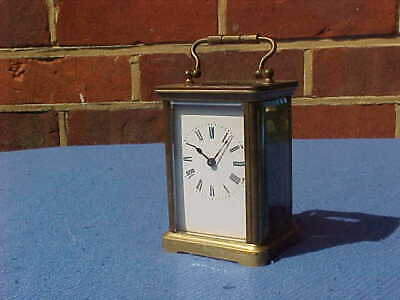 Victorian 1896 French Brass Carriage Clock