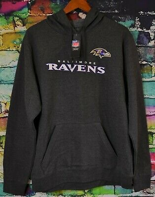 Wholesale MAJESTIC NFL MENS Baltimore Ravens Football Hoodie NWT S 2XL  for cheap