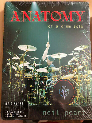 Neil Peart Mike Portnoy New Sealed Drum DVDs Rare Rush Dream Theater