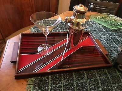 Art Deco Cocktail Tray