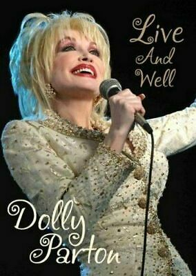 DOLLY PARTON, LIVE & WELL-RARE DVD- Brand New Fast Ship! (SUG DVD 3998/DR-18)