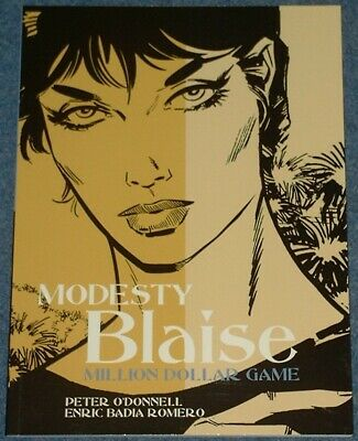 MODESTY BLAISE - MILLION DOLLAR GAME - Classic Newspaper Strips - Titan Books