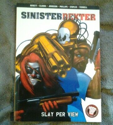 sinister dexter slay per view 2000ad graphic novel paperback
