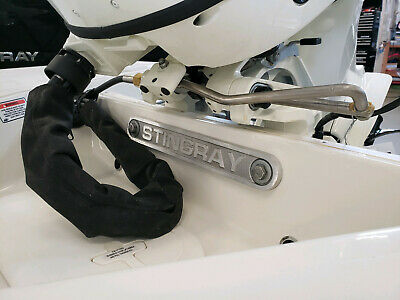 """Stingray Boats Large Motor Transom Support Plate 15"""" x 2"""" x 1/2"""" thick"""