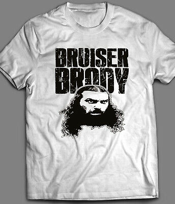 Bruiser Brody Obey Style T-Shirt Iconic Pro Wrestler Cult Icon Old school Legend