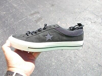 CONVERSE CONS ONE Star ONE STAR OX ALMOST BLACK Mens 162545C Size 12 new NO BOX
