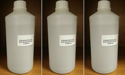 ECO SOL CLEANING SOLUTION Roland, Mimaki, Mutoh, Epson DX4 DX5 DX7 (3,000 ml)