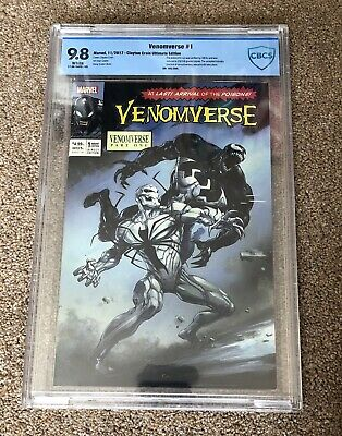 VENOMVERSE #1 CBCS 9.8 CLAYTON CRAIN ULTIMATE EDITION Limited 250