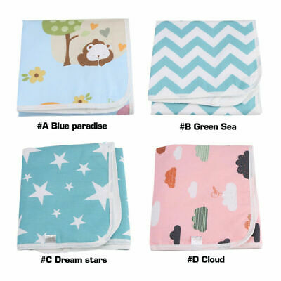 1pc Urine Pad Waterproof Infant Baby Changing Mat Breathable Diaper Nappy Cover