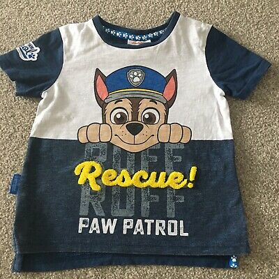 Boys Age 1.5-2 years Paw Patrol Chase short sleeve t-shirt