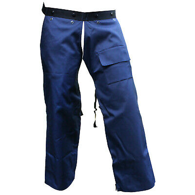 Forester Protective Trimmer Safety Chaps, Navy