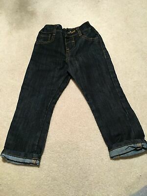 Boys 2-3 Years Navy Jeans F&F S/N45