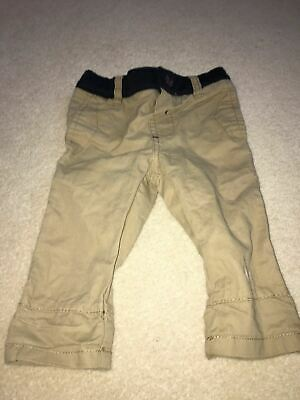 Boys 3-6 Months Ted Baker Beige Chino Trousers S/Ng1