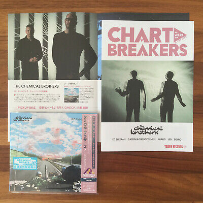 3x JAPAN BONUSTR.+FLYER! THE CHEMICAL BROTHERS NO GEOGRAPHY CD SENT FROM BERLIN!
