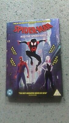 Spider-Man - Into the Spider-verse [DVD]  NEW WITH SLEEVE