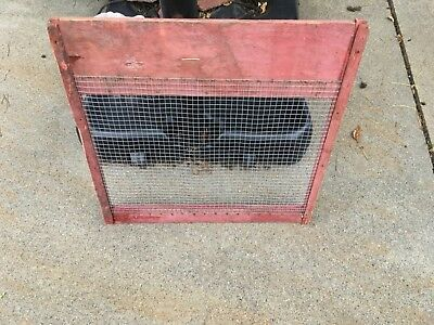 """AT Ferrell 2B Seed Clipper screen with 1/2"""" wire mesh to clean native grasses"""
