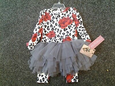 Sale New Kate Mack Dress/Leggings Sizes 2 Yrs 3 Yrs 5 Yrs 6 Yrs 7 Yrs 8Yrs 10Yrs