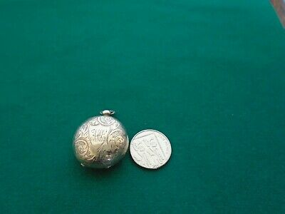 Antique Solid Silver Sovereign  Case Thomas Hayes 1892.