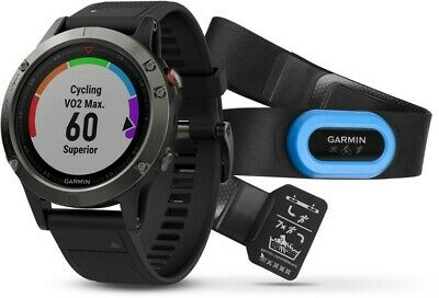Garmin Fenix 5 Performer Bundle GPS Wrist HR Multisport Watch
