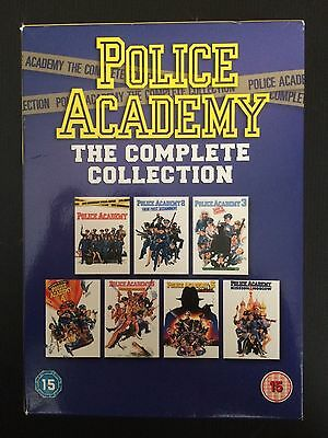 Police Academy The Complete Collection Region 2