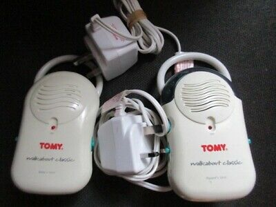 TOMY WALKABOUT Classic Baby Monitors Good Condition