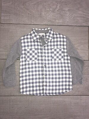 Ele - Baby Boys Checked/plaid Shirt Size 24 Months BNWT