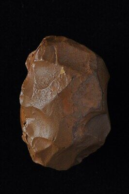 ACHEULEAN ~ MIDDLE PALEO OVATE SCRAPER, TOOL, NW Kenya, Rift Valley, Africa