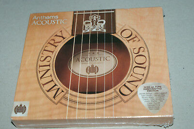 NEW * ANTHEMS ACOUSTIC * MINISTRY OF SOUND * 3x CD BOX SET  BRAND NEW & SEALED –