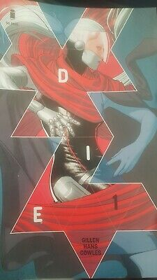 DIE # 1 - By Gillen & Stephanie Hans  - IMAGE COMICS