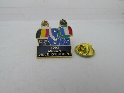 Pin's Pins Pin Badge 1992 MELUN VILLE D'EUROPE / MELUN CITY OF EUROPE TOP ! 4