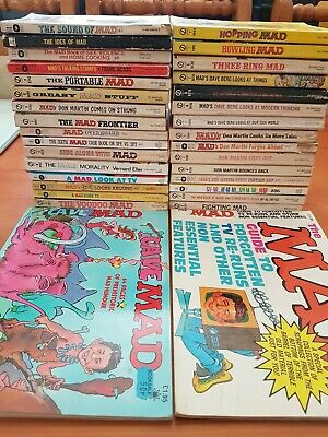 Collection of MAD books Grade 6+ Fine