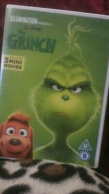 The Grinch dvd new and sealed