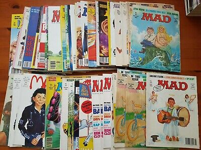 Collection of MAD magazines and specials Grade 6+ Fine