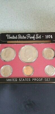 1974 United States 6 Coin Proof Set S Mint